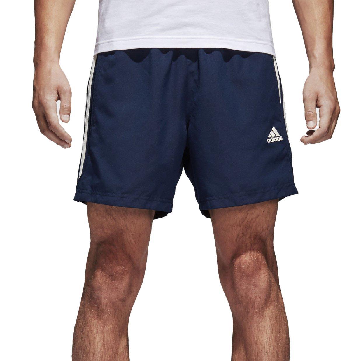 adidas Men's Essentials 3-Stripes Chelsea Shorts Small BQ0761