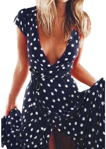 Sunshine - Vestido para mujer, con falda larga y elegante ...