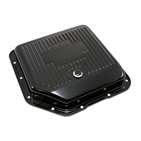 Amazon.com: Assault Racing Products A9122P GM Chevy Turbo 350 Black Steel Transmission Pan Stock Capacity TH350: Automotive