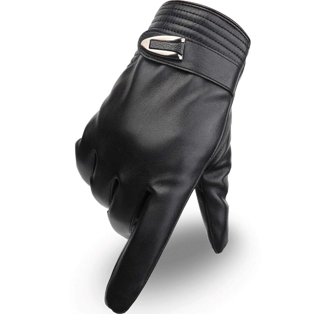 Size : XL Unisex Winter Warm Plus Velvet Cold Touch Screen Windproof Waterproof Thick Gloves