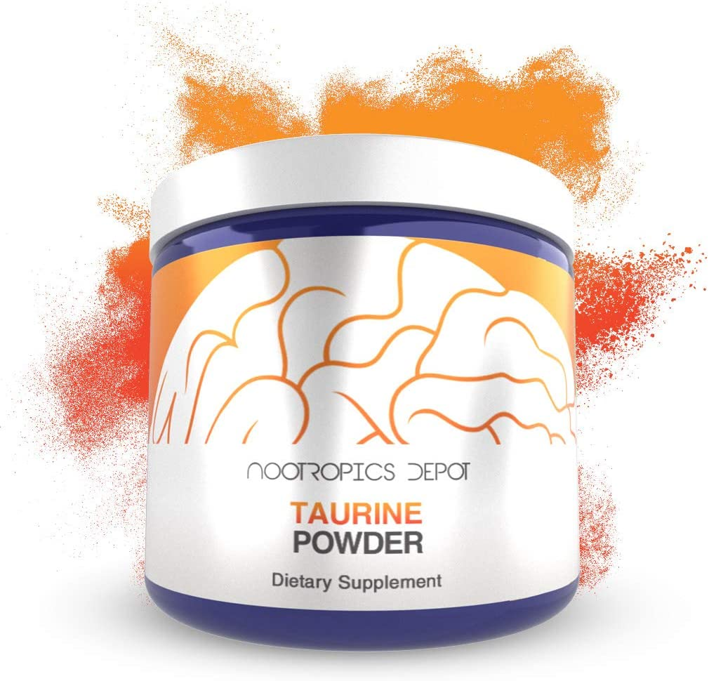 Taurine Powder | 500 Grams | Amino Acid Supplement | Supports Healthy Metabolic Function, Cardiovascular Health, and Healthy Stress Levels