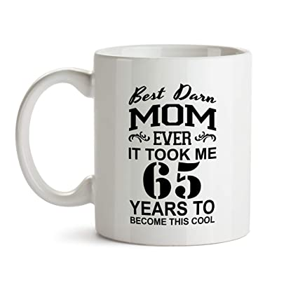 65th Mom Birthday Gift Mug