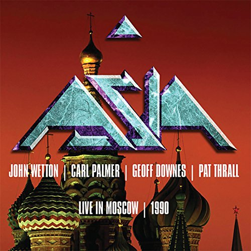 Live In Moscow 1990 by Asia