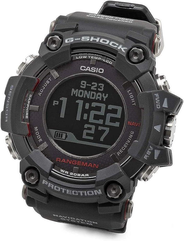 Casio - Reloj de pulsera de hombre G-Shock Rangeman GPRB1000-1, color negro