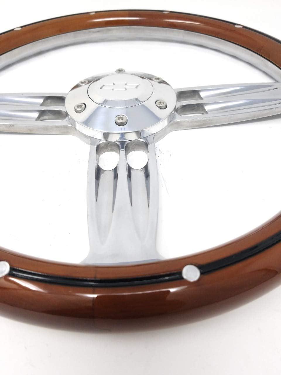 """2.4/"""" Extend Aluminum Black Steering Wheel Quick Flip Tilt For Ford Chevy Dodge"""
