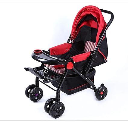 Amazon.com: SHOWGG - Cochecito de bebé ultraligero portátil ...