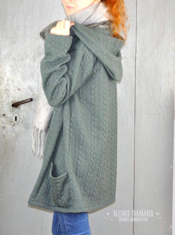 Gr 158 bis Damengr Zierstoff einfach n/ähen PAPIERSCHNITTMUSTER 46 Jacke Damenjacke Cardigan TATJANA