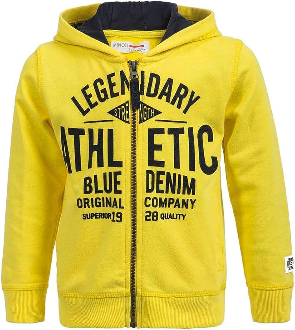 Minoti Boys Athletic Hooded Sweatshirt 6 months to 3 years