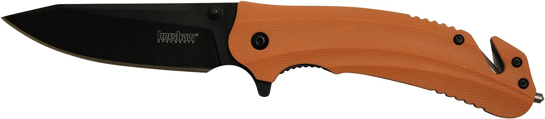 Kershaw KS8650 Cuchillo Tascabili,Unisex un tama/ño Adultos Orange