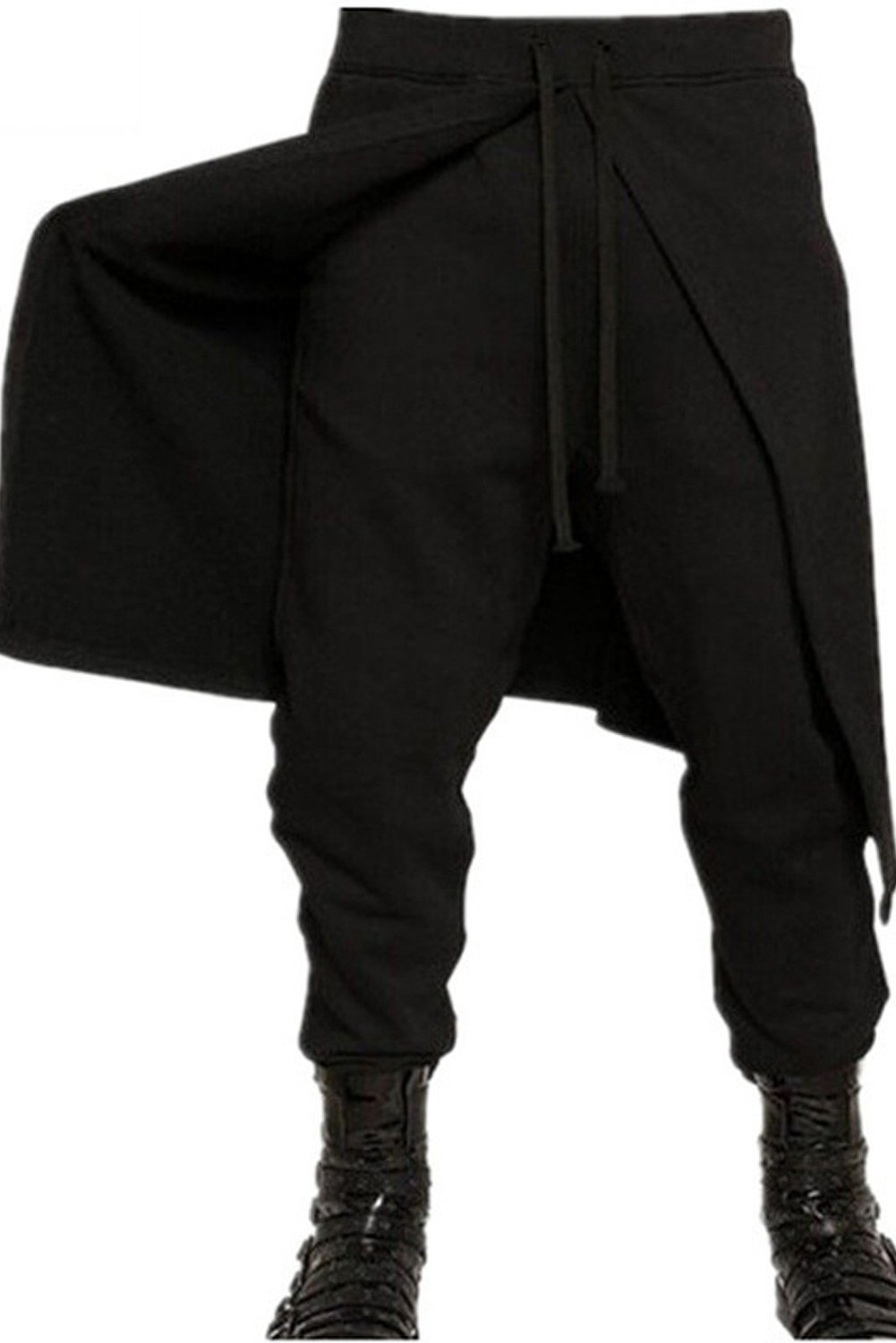 boomtrader Mens Medieval Steampunk Pants Punk Pirate Renaissance Gothic Trousers Costume 4