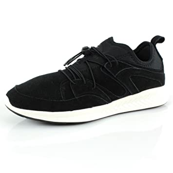 meilleur service bca2a e52a8 Amazon.com: PUMA Blaze Ignite Mens Suede Trainers - Black: Shoes