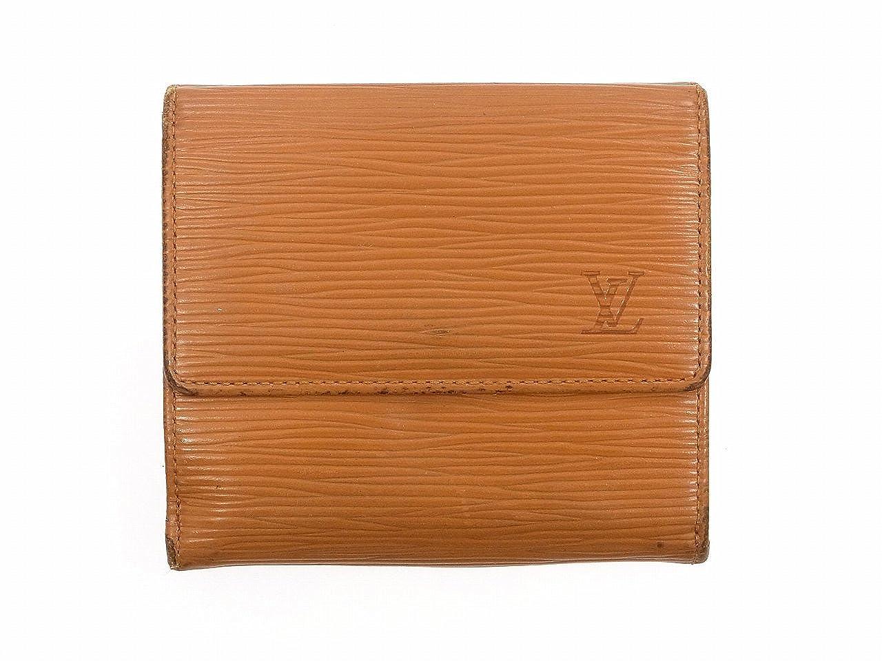 [ルイヴィトン] LOUIS VUITTON 二つ折り財布 エピ エピレザー X9623 中古   B01AL6B3YO