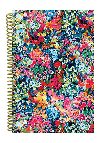 "bloom daily planners 2018 Calendar Year Daily Planner - Passion/Goal Organizer - Monthly and Weekly Datebook Agenda Diary - January 2018 - December 2018 - 6"" x 8.25"" - Wildflowers"