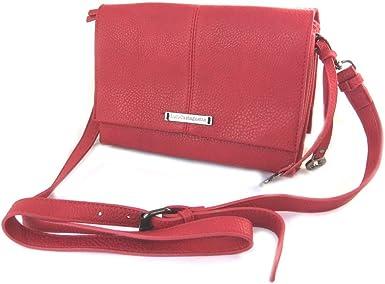 Amazon Com Designer Bag Lulu Castagnette Red 2 Compartments Clothing