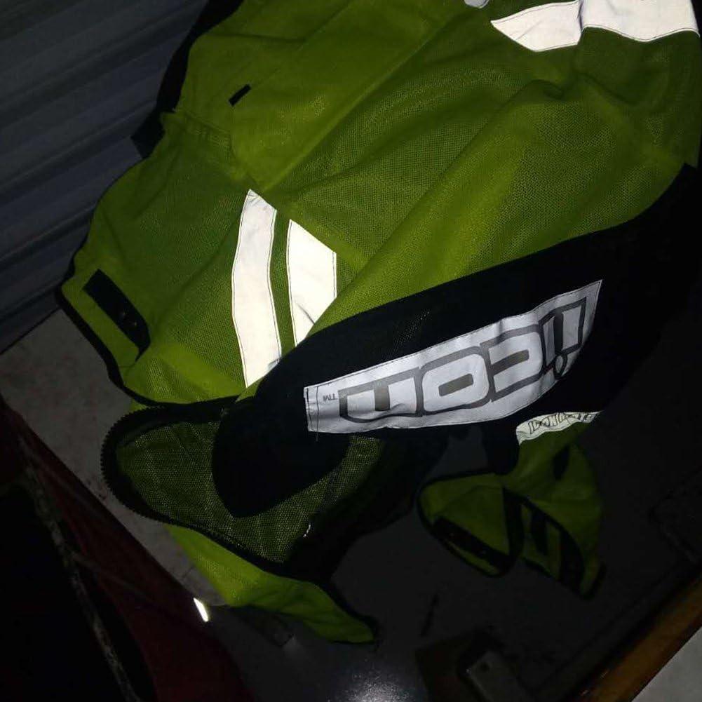 Etbotu Herren Motorrad Racing Reiten /ärmellose Jacke Sicherheitswarn Warnweste