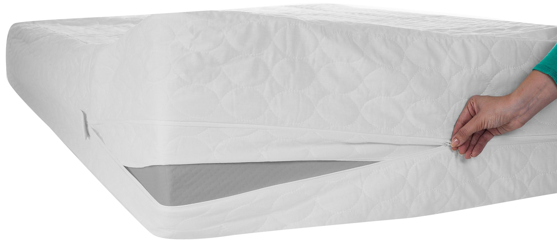 Remedy Bed Bug Dust Mite Mattress Protector, Twin X-Large