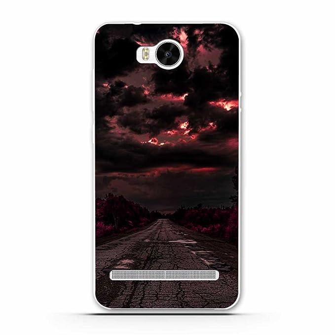 5 opinioni per Huawei Y3 2 Cover, Fubaoda Alta qualità Bello e romantico paesaggio Serie TPU