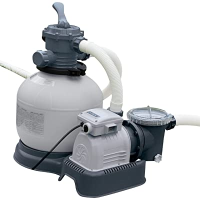 Intex 14-Inch Krystal Clear Sand Filter Pump, 110-120 Volt with GFCI