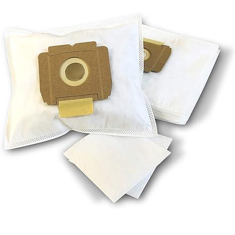 10 bolsas para aspiradoras AEG Vampyrino S, SX, Space, bolsas de filtro de