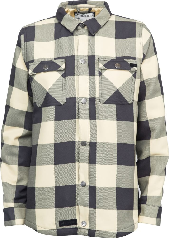 L1 Strangelove Flannel - Women's Ink/Dusty Yellow X-Small