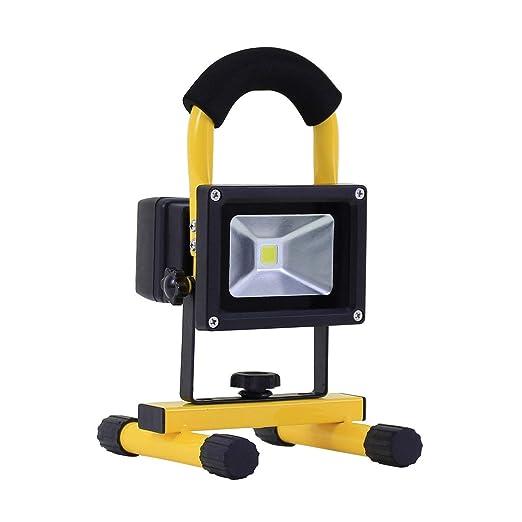 Foco Proyector LED Portátil con Batería 20W efectoLED
