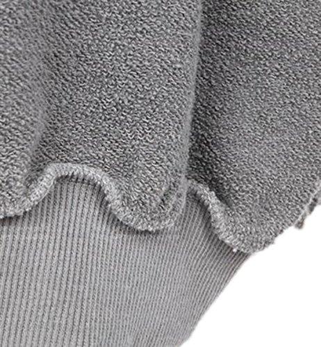 erdbeerloft - Cárdigan - Opaco - para mujer gris