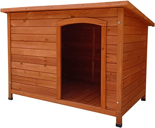 Gardiun KNH1240 - Caseta de perro de madera Sugar a 1 agua 85x58x58 cm: Amazon.es: Jardín