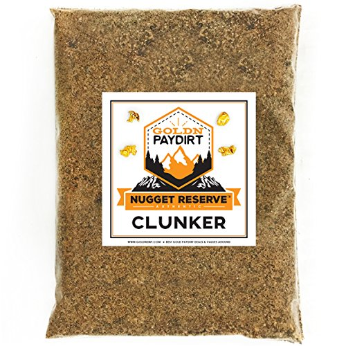 Nugget Reserve Gold Paydirt Clunker Panning Pay Dirt Bag - Gold Prospecting Concentrate