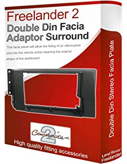 FP-29-02 Double Din Fascia Panel For Landrover Discovery 3