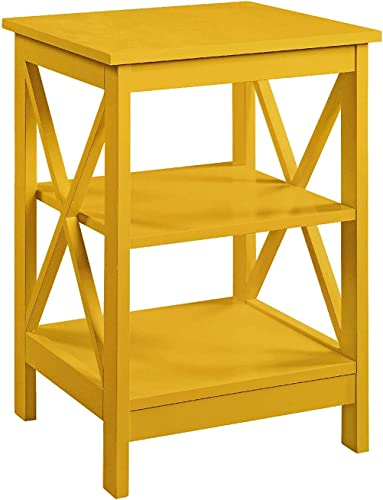 Convenience Concepts Oxford End Table, Yellow