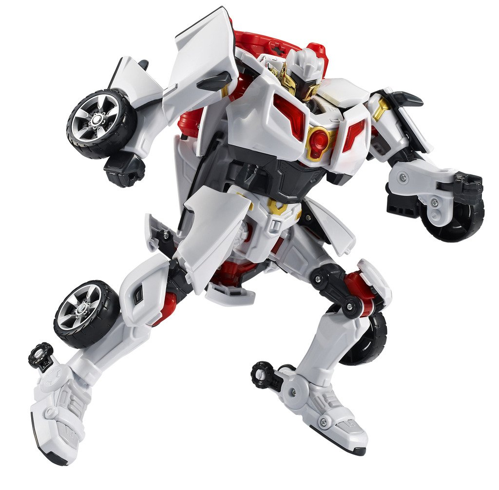 Tobot Youngtoys Evolution Y Shield-On Car Transforming Robot Car to Robot Animation Character