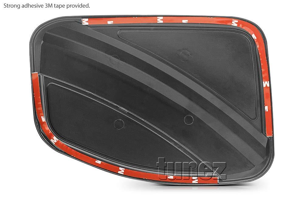TUNEZ/® Fuel Filler Gas Tank Door Cover Trim Matt Black For Ranger T6 PX MK1 MK2 MK3 Matte 2011 2012 2013 2014 2015 2016 2017 2018 2019