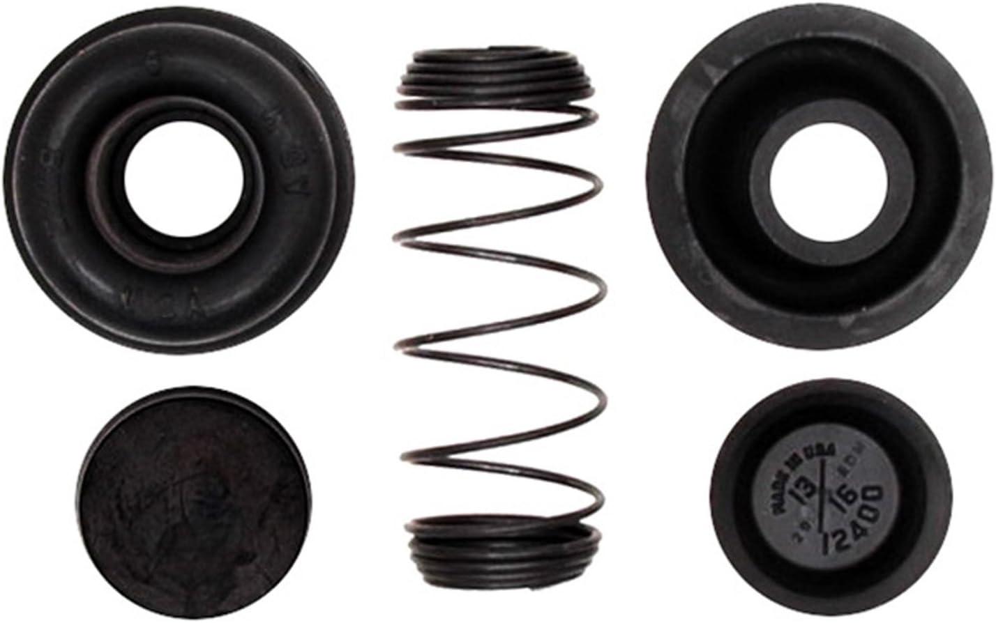 ACDelco 18G164profesional Kit de reparación de cilindro de rueda de freno de tambor trasero con resorte, botas, y tapas