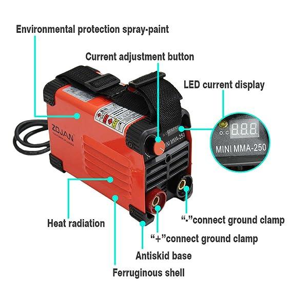 zojan mini mma arc welding machine ac220v 160amp portable welder Second Welding Machine