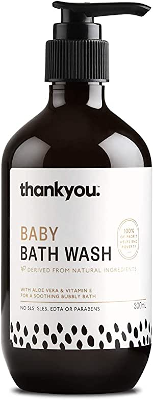 Thankyou Baby Bath Wash, 300ml