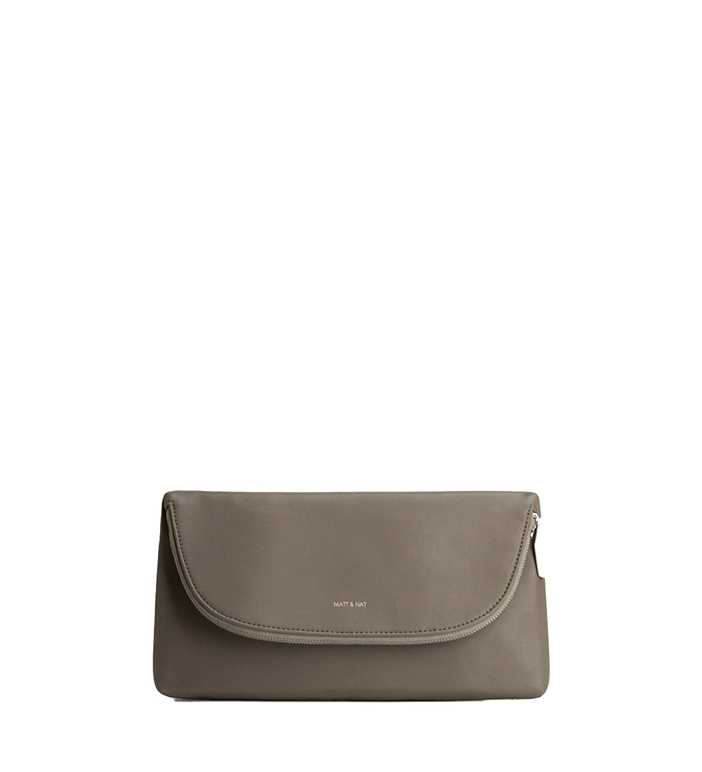 Matt & Nat Robby Loom Clutch, 100% Vegan, Sage Green