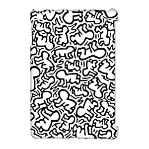 DIY High Quality Case for Ipad Mini 3D, Keith Haring Phone Case - HL-2033629