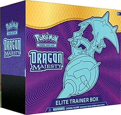 Pokémon Dragon Majesty Elite Trainer Box and Pokémon TCG Burning Shadows Elite Trainer Box Bundle, 1 of Each