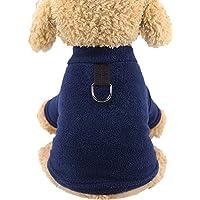 Mono De Invierno Perro, Mascota De Lana Chaqueta De Abrigo para Perros Perro Duradera A Prueba De Viento Escudo Térmico…