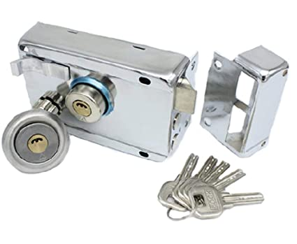 Exterior Door Locks Security Anti-theft Lock Multiple Insurance Lock Puerta de Hierro Cerradura de