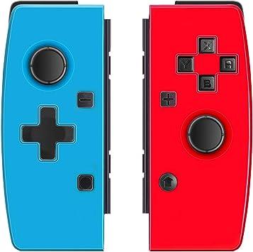 JFUNE Set de Mandos para Nintendo Switch (R/L), Joypad Mando Inalámbrico Pro Controlador Wireless Switch Controller (Switch Joycon): Amazon.es: Electrónica
