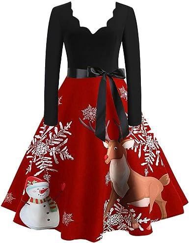 Vestido De Gasa, Vestido Acampanado Vintage con Estampado De Notas ...