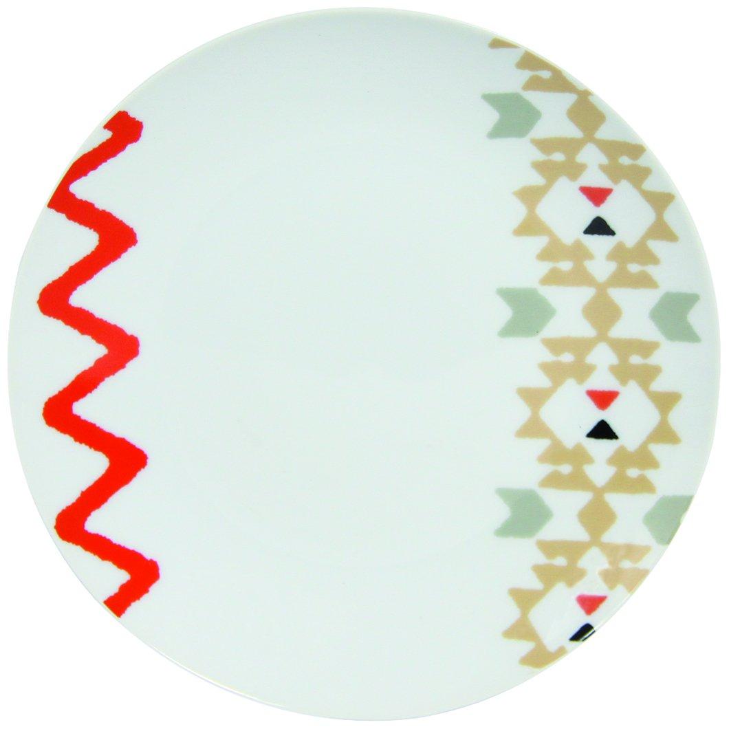 8010341 Novastyl Progettazione Motivo-Unità 6 / Bianco Piatti, Porcellane, 21 Cm X 21 Cm X 2 Cm