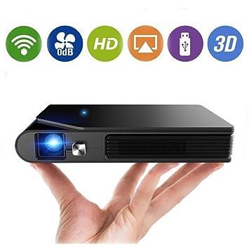 Mini proyector inalámbrico portátil Wifi 3D DLP Proyectores ...