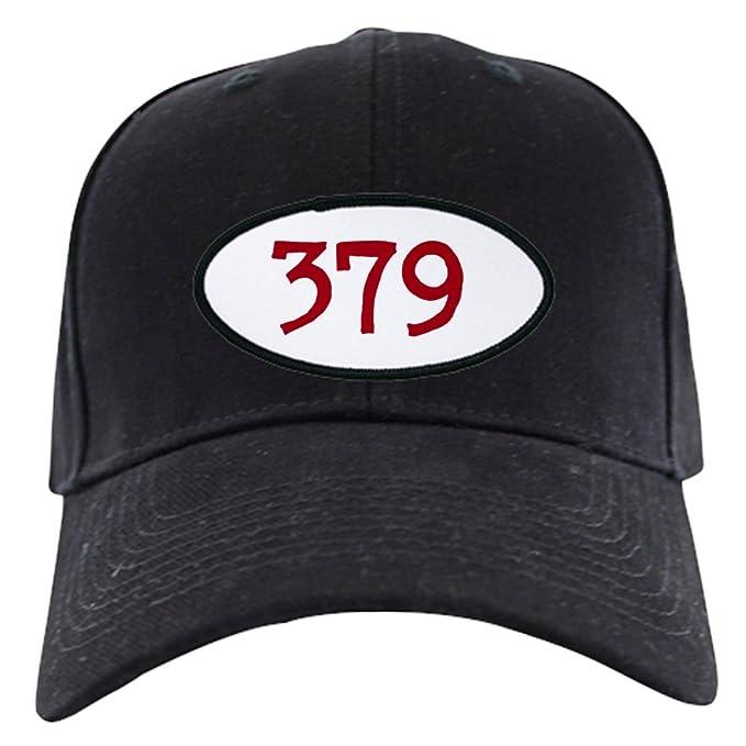 Amazon.com  CafePress - Peterbilt 379 Black Cap - Baseball Hat ... 0ecb4050f59e