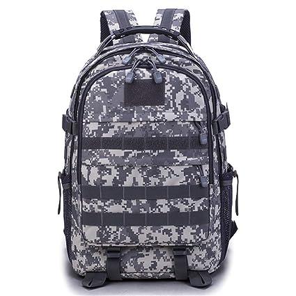 J.SPG Outdoor Men Women Military Tactical Backpack Trekking Sport Travel  50L Nylon Camping Hiking d9c1d31ae0