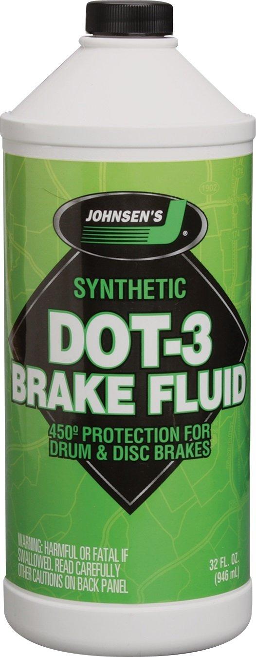 Johnsen's 2232 Premium DOT-3 Brake Fluid - 32 oz. Johnsen' s