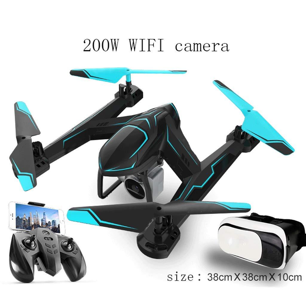 comprar ahora Drone Plegable Quadcopter Quadcopter Quadcopter con HD WiFi 720P Cámara Imagen de giroscopio de 4 Ejes y 6 Ejes Siguiendo el V de Grosor Selfie Drone La Mejor opción para niños y Principiantes Negro  tienda de venta