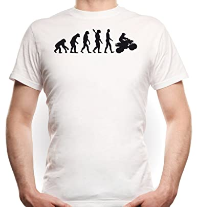 Quad Evolution T-Shirt Bianco Certified Freak-S
