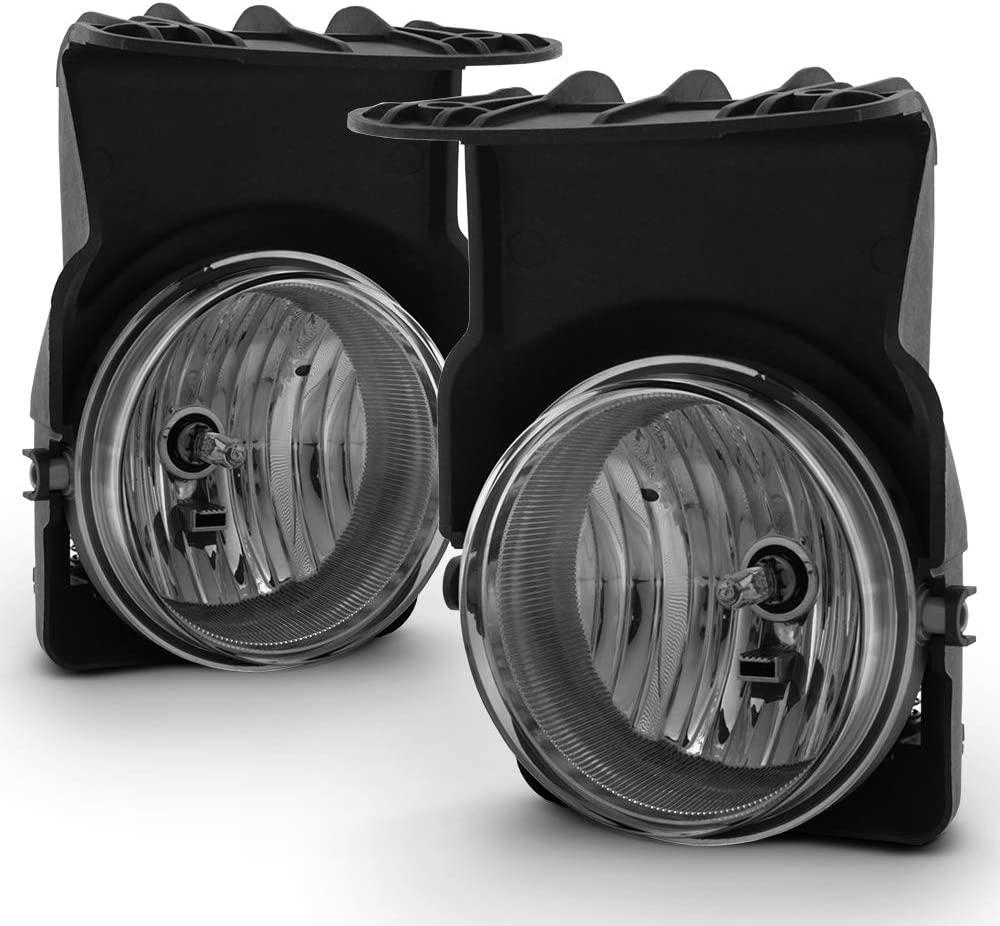 AUTOSAVER88 Fog Lights H10 12V 42W Halogen Lamp for 05-07 Chevy Silverado//05-07 GMC Sierra